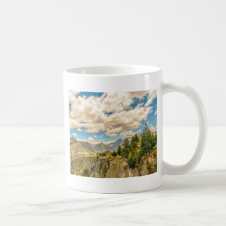 Valley and Andes Range Mountains Latacunga Ecuador Coffee Mug