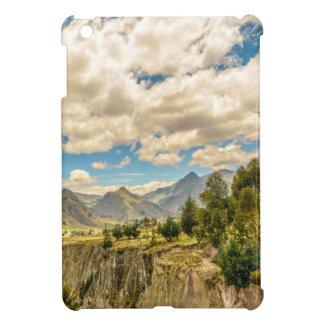Valley and Andes Range Mountains Latacunga Ecuador iPad Mini Cover