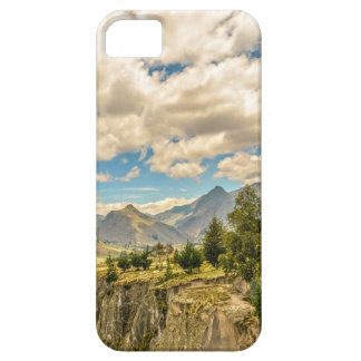 Valley and Andes Range Mountains Latacunga Ecuador iPhone 5 Cases