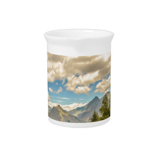 Valley and Andes Range Mountains Latacunga Ecuador Pitcher