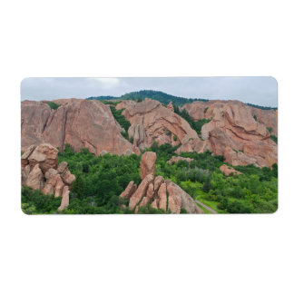 Valley and Rock Formations at Roxborough