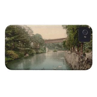 Valley Bridge Scarborough Yorkshire England iPhone 4 Case-Mate Case