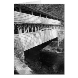 Valley Forge National Park Covered Bridge Notecard Cards