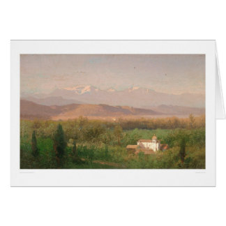 Valley near Los Angeles, California (0704A) Greeting Card