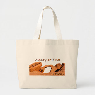 Valley of Fire Large Tote Bag