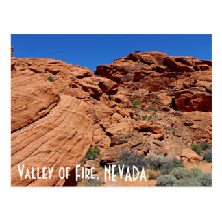 Valley of Fire Postcard! Postcard