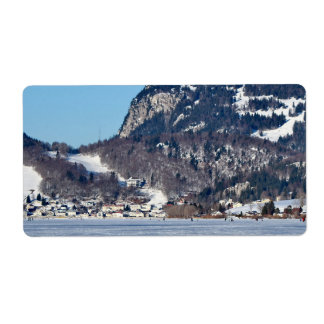 valley of joux and lake