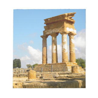 Valley of Temples Sicily Notepad
