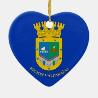 Valparaiso (Chile), Chile Ceramic Heart Decoration