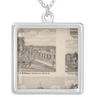 Valparaiso City Public Graded School Silver Plated Necklace