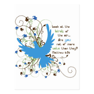 Value of Birds Post Card