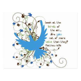 Value of Birds Postcards
