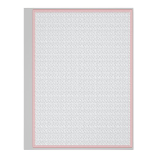 Value Priced Blank Album Pages Flyer Design