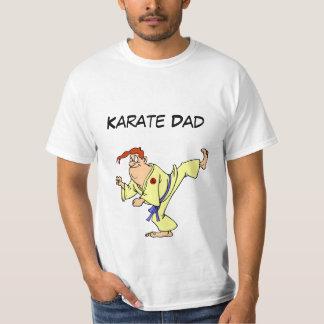Value T-Shirt Karate Cartoon