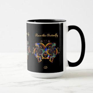 Valuegem Butterfly Mug