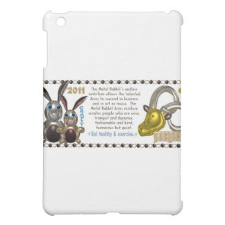 Valxart 1951 2011 2071 MetalRabbit zodiac Aries iPad Mini Covers
