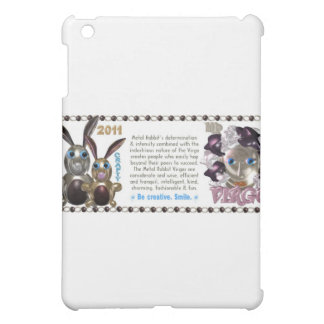 Valxart 1951 2011 2071 MetalRabbit zodiac Virgo iPad Mini Cover