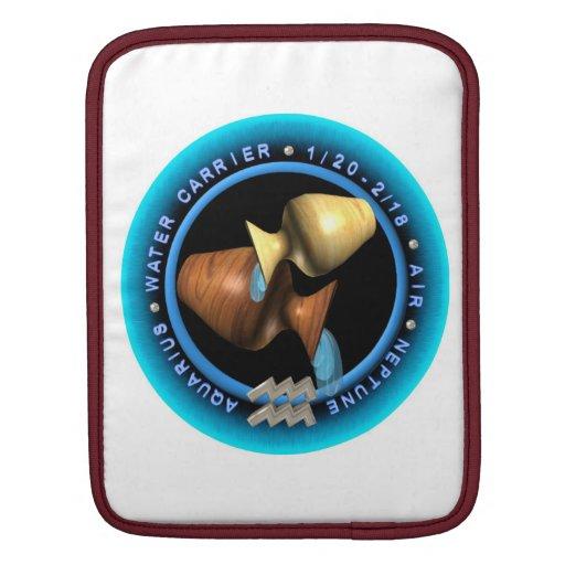 Valxart 1961 2021 MetalBull zodiac Aquarius iPad Sleeves