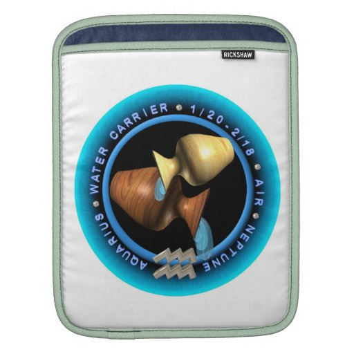 Valxart 1961 2021 MetalBull zodiac Aquarius Sleeves For iPads