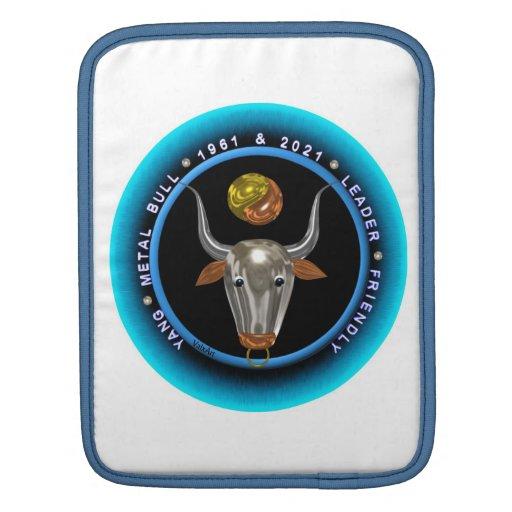 Valxart 1961 2021 MetalBull zodiac Capricorn iPad Sleeve