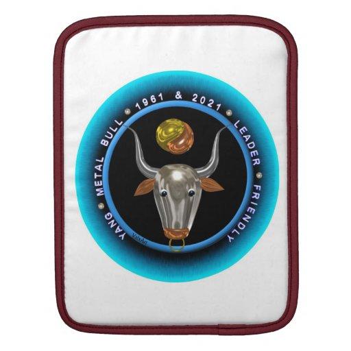Valxart 1961 2021 MetalBull zodiac Gemini Sleeves For iPads