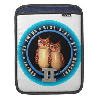 Valxart 1961 2021 MetalBull zodiac Gemini iPad Sleeve