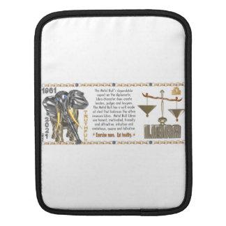 Valxart 1961 2021 MetalBull zodiac Libra iPad Sleeve