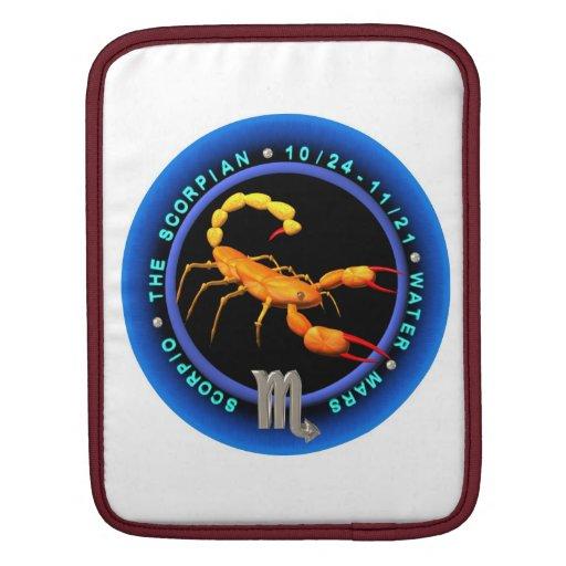 Valxart 1961 2021 MetalBull zodiac Scorpio iPad Sleeve