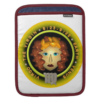 Valxart 1961 2021 MetalBull zodiac Virgo iPad Sleeves