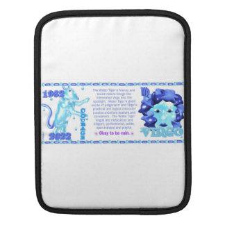 Valxart 1962 2022 WaterTiger  zodiac Virgo Sleeve For iPads