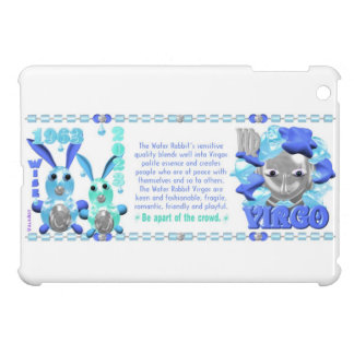 Valxart 1963 2023 WaterRabbit zodiac Virgo Cover For The iPad Mini
