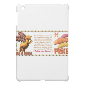 Valxart 1964 2024 Wood Dragon zodiac Pisces iPad Mini Covers