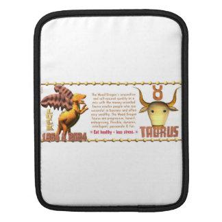 Valxart 1964 2024 Wood Dragon zodiac Taurus iPad Sleeves
