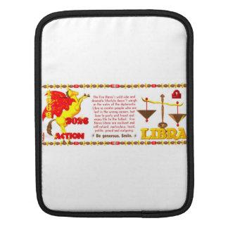 Valxart 1966 2026 Fire Sheep zodiac Libra Sleeves For iPads
