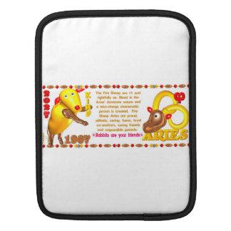 Valxart 1967 2027 Fire Sheep zodiac Aries Sleeves For iPads