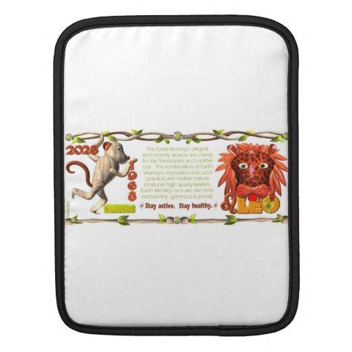 Valxart 1968 2028 EarthMonkey zodiac Leo Sleeves For iPads