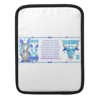 Valxart 1972 2032 WaterRat zodiac born Taurus Sleeves For iPads