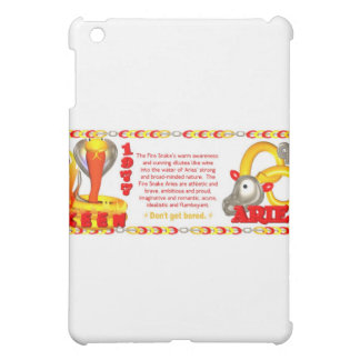 ValxArt 1977 2037 zodiac fire snake Aries Case For The iPad Mini