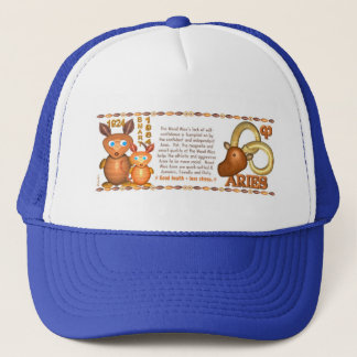 Valxart 1984 2044 WoodRat zodiac born Aries Trucker Hat