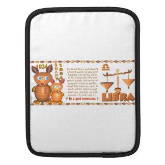 Valxart 1984 2044 WoodRat zodiac born Capricorn iPad Sleeve