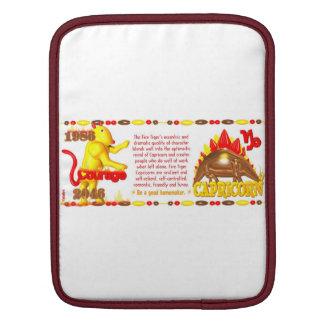 Valxart 1986 2046 FireTiger zodiac Capricorn Sleeves For iPads