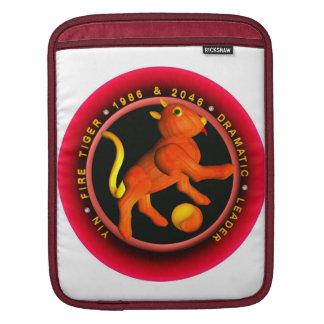 Valxart 1986 2046 FireTiger zodiac Pisces Sleeve For iPads