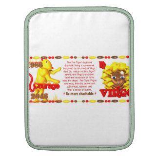 Valxart 1986 2046 FireTiger zodiac Virgo iPad Sleeve