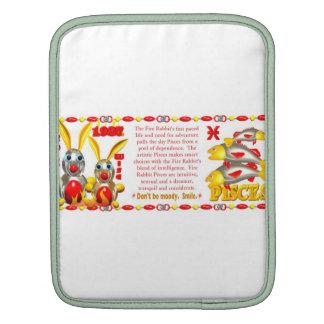 Valxart 1987 2047 FireRabbit zodiac Pisces Sleeves For iPads