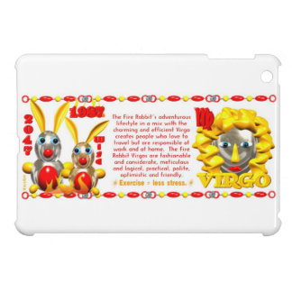 Valxart 1987 2047 FireRabbit zodiac Virgo ipad iPad Mini Covers