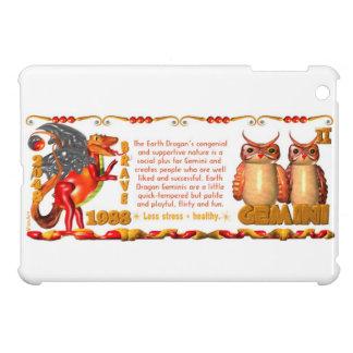 Valxart 1988 2048 Earth Dragon zodiac Gemini iPad Mini Covers