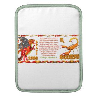 Valxart 1988 2048 EarthDragon zodiac Scorpio Sleeve For iPads