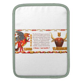 Valxart 1988 2048 EarthDragon zodiac Taurus iPad Sleeve