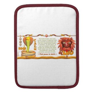 Valxart 1989 2049 EarthSnake zodiac Leo iPad Sleeves