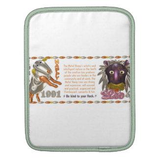 Valxart 1991 2051 MetalSheep zodiac Leo iPad Sleeve
